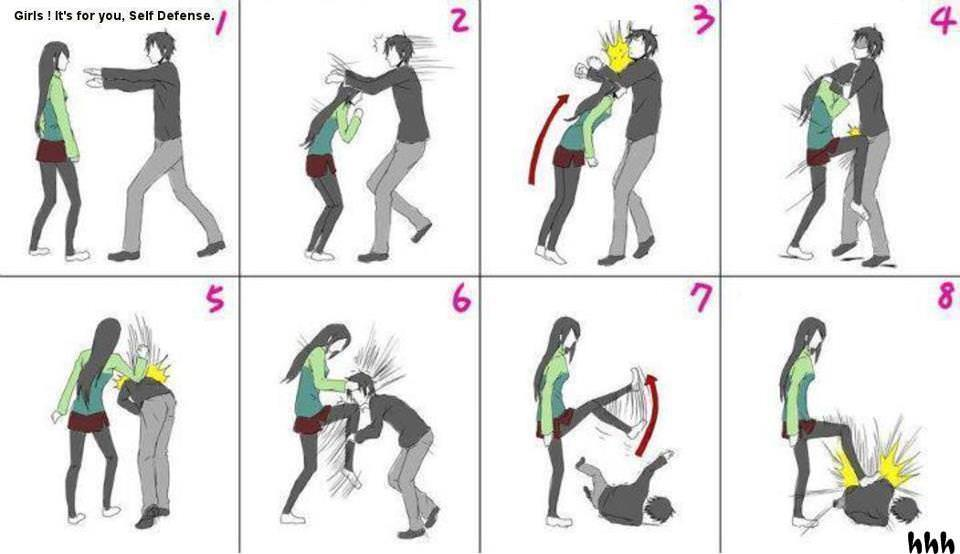 Self Defense Girl