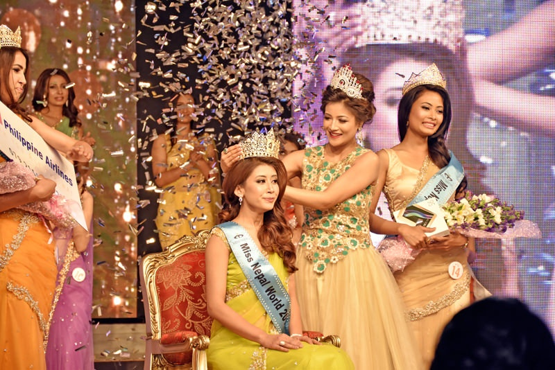 Asmi Shrestha Miss Nepal 2016