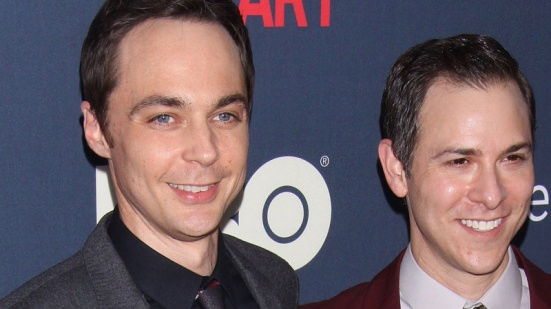 Sheldon Cooper (Jim Parsons) with his bf