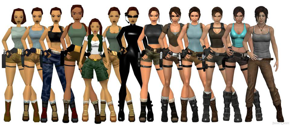 Angelina Jolie in Tomb Raider Game as Lara Croft