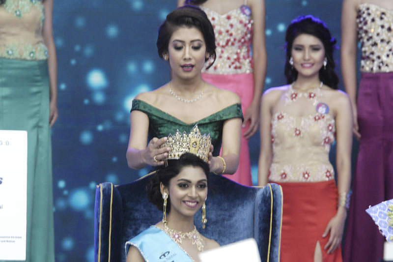Nikita Chandak Miss Nepal 2017